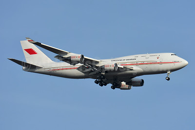 Kingdom of Bahrain (Bahrain Amiri Flight) Boeing 747-4F6 A9C-HAK (msn 28961) BSL (Paul Bannwarth). Image: 944961.