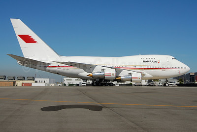 Bahrain Amiri Flight Boeing 747SP-21 A9C-HMH (msn 21649) LAX (Roy Lock). Image: 942883.