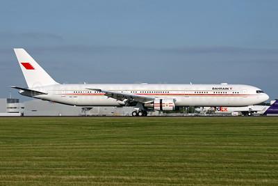 Bahrain Amiri Flight Boeing 767-4FS ER A9C-HMH (msn 34205) STN (Antony J. Best). Image: 942884.