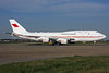 Kingdom of Bahrain (Bahrain Amiri Flight) Boeing 747-4F6 A9C-HAK (msn 28961) LHR. Image: 937542.
