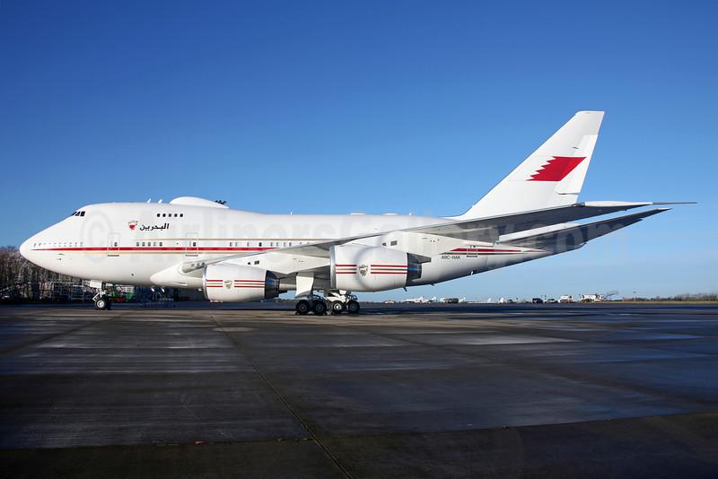 Bahrain Amiri Flight Boeing 747SP-Z5 A9C-HAK (msn 23610) DUB (Greenwing). Image: 921864.