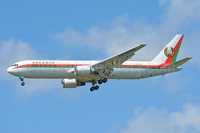 Belarus (Government) Boeing 767-32K ER EW-001PB (msn 33968) BSL (Paul Bannwarth). Image: 953993.