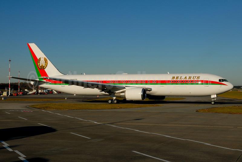 Belarus (Government) Boeing 767-32K EW-001PB (msn 33968) HAM (Gerd Beilfuss). Image: 910077.