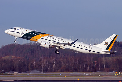 Republica Federativa do Brasil (Forca Aerea Brasileira) Embraer ERJ 190-100 IGW (VC-2) 2591 (msn 19000277) ZRH (Andi Hiltl). Image: 945315.