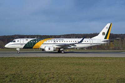 Republica Federativa do Brasil (Forca Aerea Brasileira) Embraer ERJ 190-100 IGW (VC-2) 2591 (msn 19000277) ZRH (Rolf Wallner). Image: 945316.