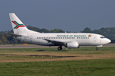 Republic of Bulgaria Boeing 737-548 LZ-BOR (msn 25165) LGW (Antony J. Best). Image: 945807.