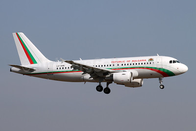 Republic of Bulgaria Airbus A319-112 LZ-AOB (msn 3188) ZRH (Andy Hiltl). Image: 945808.