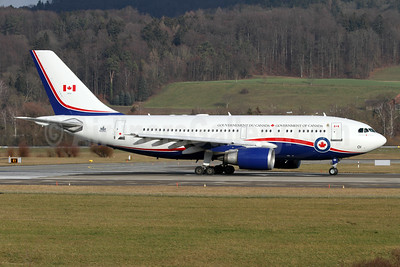 Government of Canada Airbus A310-304 (CC-150) Polaris 15001 (msn 446) ZRH (Andi Hiltl). Image: 931218.