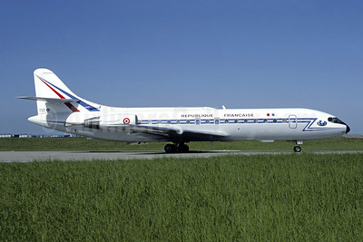 Republique Francaise (French Air Force) Sud Aviation SE.210 Caravelle 10R F-RATH (msn 201) ORY (Jacques Guillem). Image: 945896.