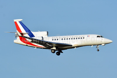 Republique Francaise (French Air Force) Dassault Falcon 7X F-RAFB (msn 86) ZRH (Paul Bannwarth). Image: 945895.