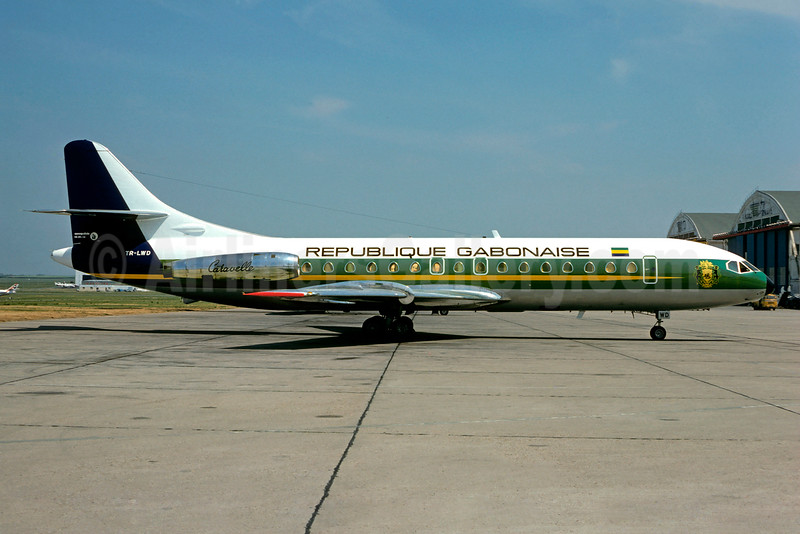 Republique Gabonaise Sud Aviation SE.210 Caravelle 6R TR-LWD (msn 114) LBG (Christian Volpati). Image: 902356.