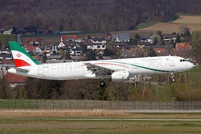 Islamic Republic of Iran Airbus A321-231 EP-IGD (EP-AGB) (msn 1202) ZRH (Andi Hiltl). Image: 953466.