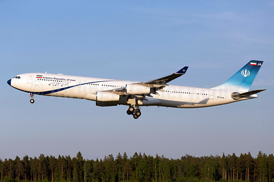 Islamic Republic of Iran Airbus A340-313 EP-AJA (msn 257) ARN (Stefan Sjogren). Image: 933177.