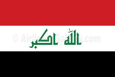 1. Iraq flag