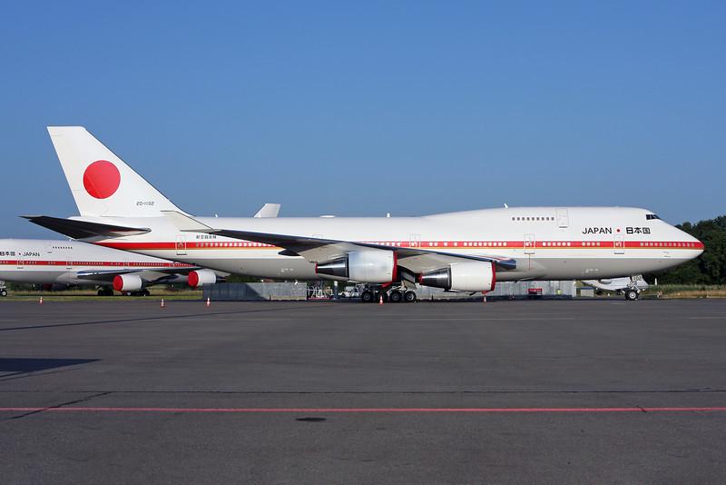 Japan Government (JASSDF) Boeing 747-47C 20-1102 (msn 24731) ZRH (Andi Hiltl). Image: 923248.