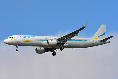 Kazakhstan Government (Comlux) Airbus A3321-211 WL UP-A2101 (msn 5538) BSL (Paul Bannwarth). Image: 933307.