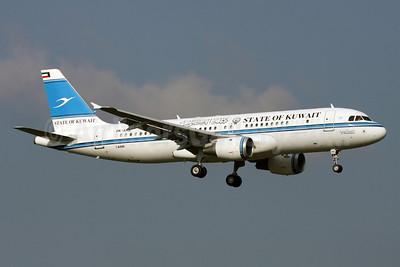 State of Kuwait Airbus A320-212 9K-AKD (msn 2046) ZRH (Andi Hiltl). Image: 911997.