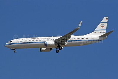 State of Kuwait Boeing 737-9BQ ER WL 9K-GCC (msn 37632) IAD (Brian McDonough). Image: 927392.