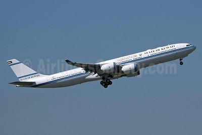 State of Kuwait Airbus A340-542 F-WWTE (9K-GBA) (msn 1091) TLS (Eurospot). Image: 911999.