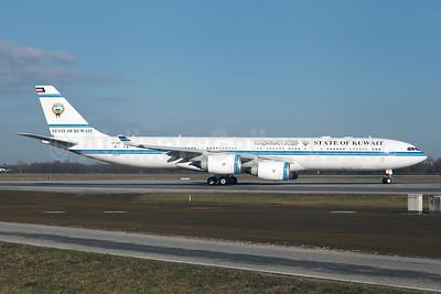 State of Kuwait Airbus A340-542 9K-GBB (msn 1102) MUC (Arnd Wolf). Image: 928644.