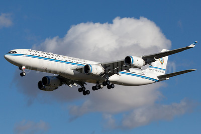 State of Kuwait Airbus A340-542 F-WWTZ (9K-GBB) (msn 1102) TLS (Guillaume Besnard). Image: 905728.