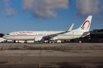 Morocco Boeing 737-8KB WL CN-MVI (msn 37545) (Royal Air Maroc colors) YYZ (TMK Photography). Image: 929219.