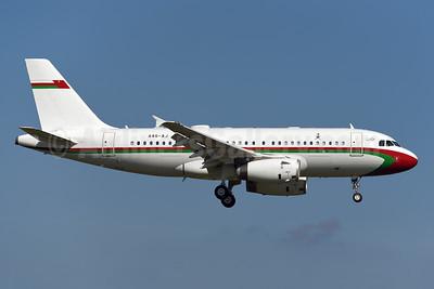 Oman (Royal Flight of Oman) Airbus A319-133 (ACJ) A40-AJ (msn 4992) ZRH (Rolf Wallner). Image: 955114.