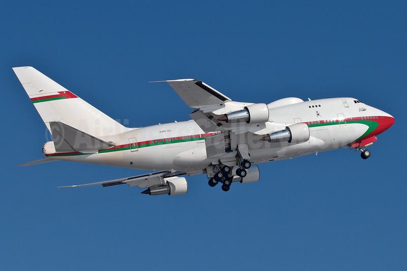 Oman (Royal Flight of Oman) Boeing 747SP-27 A40-SO (msn 21785) MUC (Arnd Wolf). Image: 920600.