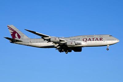 Qatar Amiri Flight Boeing 747-8KB (BBJ) A7-HHE (msn 37544) JFK (Jay Selman). Image: 403137.