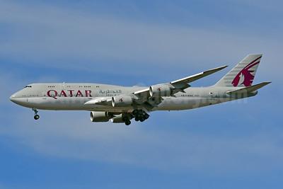 Qatar Amiri Flight Boeing 747-8KB (BBJ) A7-HHE (msn 37544) JFK (Ken Petersen). Image:  947713.