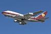Qatar Amiri Flight Boeing 747SP-21 VP-BAT (msn 21648) LHR (Keith Burton). Image: 901022.