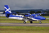 Scottish Government (Loganair) Viking Air DHC-6-400 Twin Otter G-HIAL (msn 896) GLA (Robbie Shaw). Image: 934304.