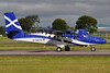 Scottish Government (Loganair) Viking Air DHC-6-400 Twin Otter G-SGTS (msn 918) GLA (Robbie Shaw). Image: 934305.