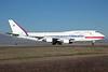 Korea Boeing 747-4B5 10001 (msn 26412) SCL (Alvaro Romero). Image: 921516.