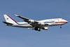 Korea Boeing 747-4B5 10001 (msn 26412) ADW (Brian McDonough). Image: 932299.