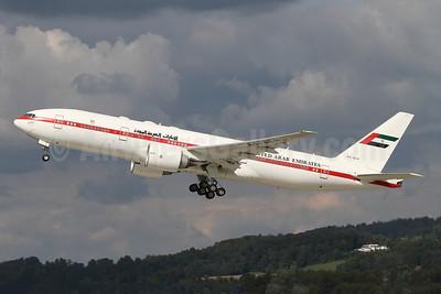 United Arab Emirates (Abu Dhabi Amiri Flight) Boeing 777-2AN ER A6-ALN (msn 29953) ZRH (Andi Hiltl). Image: 941912.