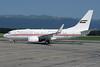 United Arab Emirates (Abu Dhabi Amiri Flight)  Boeing 737-7E0 WL A6-HRS (msn 29251) GVA (Paul Denton). Image: 920814.