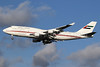 United Arab Emirates (Abu Dhabi Amiri Flight) Boeing 747-422 A6-HRM (msn 26903) LHR (SPA). Image: 940717.