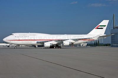 United Arab Emirates (Abu Dhabi Amiri Flight) Boeing 747-433 A6-COM (msn 25074) MUC (Arnd Wolf). Image: 928850.