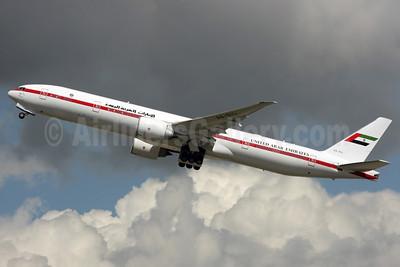 United Arab Emirates (Abu Dhabi Amiri Flight) Boeing 777-35R ER A6-SIL (msn 36563) LHR (Antony J. Best). Image: 904869.