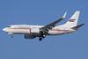 United Arab Emirates (Abu Dhabi Amiri Flight)  Boeing 737-7E0 WL A6-HRS (msn 29251) DXB (Paul Denton). Image: 920813.