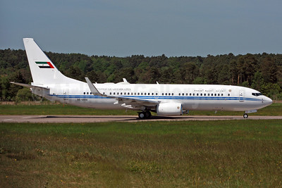 United Arab Emirates (Abu Dhabi Amiri Flight)  Boeing 737-8EC WL (BBJ2) A6-MRM (msn 32450) FAB (SPA). Image: 942420.