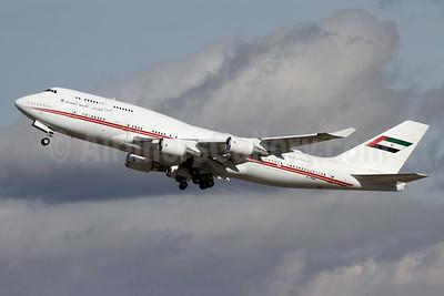 United Arab Emirates (Abu Dhabi Amiri Flight) Boeing 747-48E A6-HMM (msn 28551) ZRH (Andi Hiltl). Image: 949206.