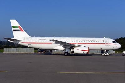 United Arab Emirates (Abu Dhabi Amiri Flight)  Airbus A320-232 A6-HMS (msn 3379) ZRH (Rolf Wallner). Image: 923901.