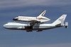 NASA Boeing 747-123 N905NA (msn 20107) + Endeavor LAX (James Helbock). Image: 909404.