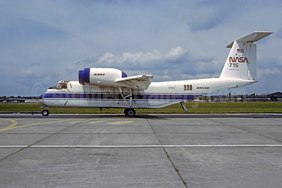 NASA de Havilland Canada C-8A Buffalo (DHC-5) N715NA (msn 2) LBG (Christian Volpati Collection). Image: 948492.