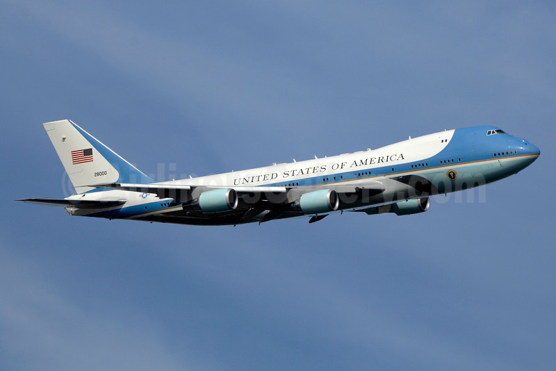 "Operating as ""Air Force One"""