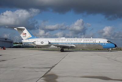 United States of America (U.S. Air Force) McDonnell Douglas VC-9C (DC-9-32) 31682 (msn 47670) MIA (Bruce Drum). Image: 100636.