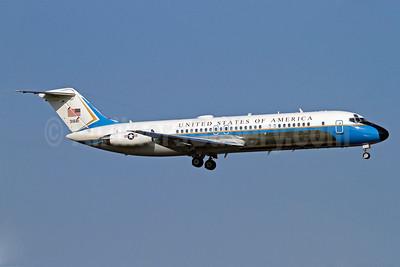 United States of America (U.S. Air Force) McDonnell Douglas VC-9C (DC-9-32) 31681 (msn 47668) ARN (Stefan Sjogren). Image: 906605