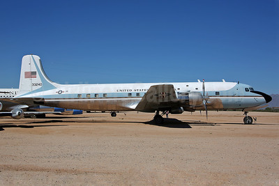 United States of America (U.S. Air Force) Douglas VC-118A (DC-6A) Liftmaster 33240 (53-3240) (msn 44611) DMA (Keith Burton). Image: 940030.